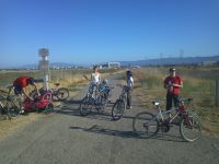Shoreline Park - bike trile